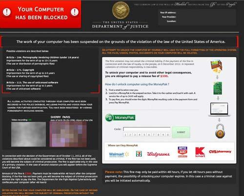 BEWARE! Fake Antivirus Scams